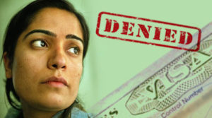 Malalai Joya's visa to the US was granted.